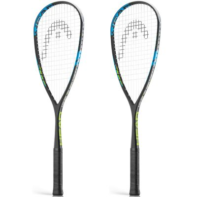 Head Innegra Ignition Squash Racket Double Pack