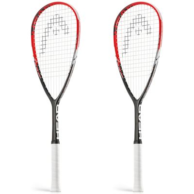 Head Innegra Laser Squash Racket Double Pack