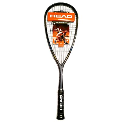 Head IX 120 Squash Racket Double Pack - Cover - Logo
