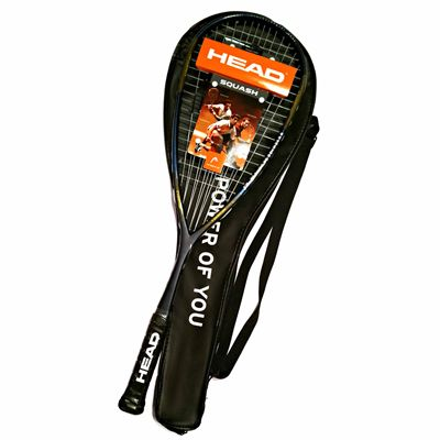 Head IX 120 Squash Racket Double Pack - Cover - Unpacked
