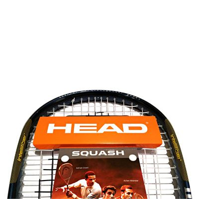 Head IX 120 Squash Racket Double Pack - Head Logo