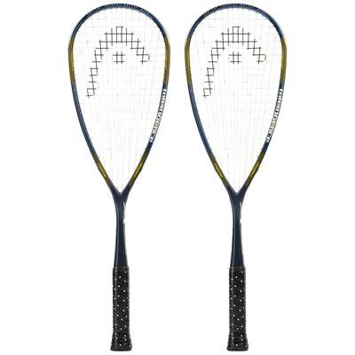 Head IX 120 Squash Racket Double Pack