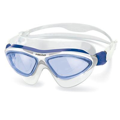 Head Jaguar LiquidSkin Swimming Mask - Blue White Frame Blue Lenses