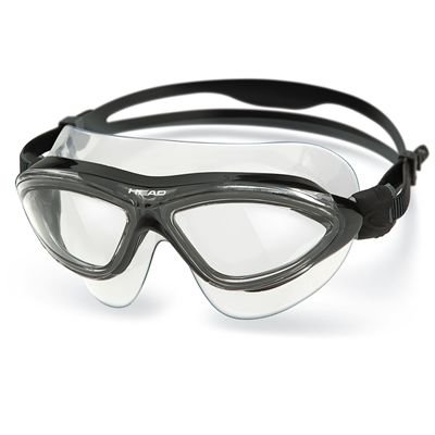 Head Jaguar LiquidSkin Swimming Mask - Clear Black Frame Clear Lenses