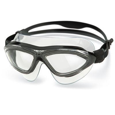 Head Jaguar LiquidSkin Swimming Mask - Clear Black Frame Clear Lenses