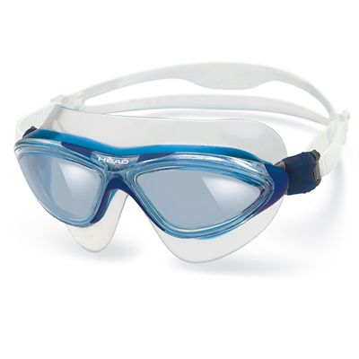 Head Jaguar LiquidSkin Swimming Mask - Clear Blue Frame Blue Lenses