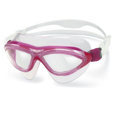 Head Jaguar LiquidSkin Swimming Mask - Clear Magenta Frame Clear Lenses