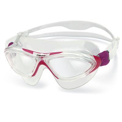 Head Jaguar LSR Swimming Goggles - Clear Magenta Frame Clear Lenses