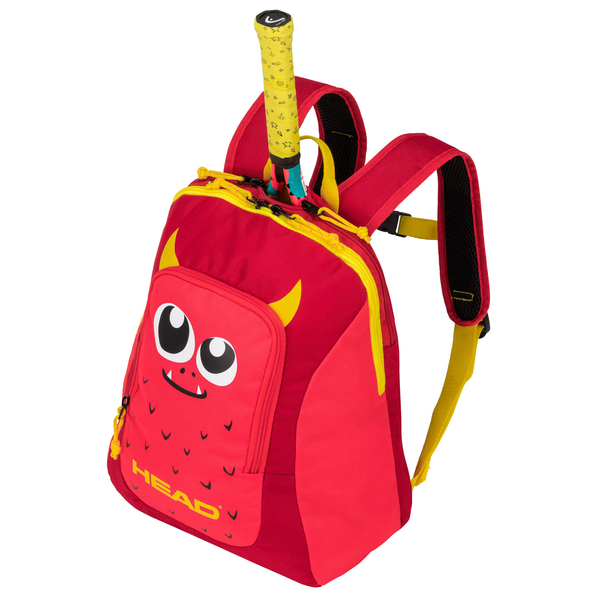Head Kids Backpack - Red/Yellow