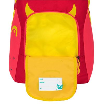 Head Kids Backpack SS20 - Blue - Red - Opened