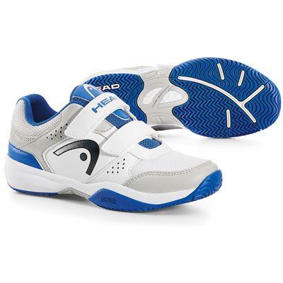 Head Lazer Velcro Junior Tennis Shoes-Main Image
