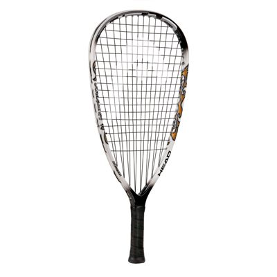 Head Liquid Metal Hurricane Racketball Racket - white black