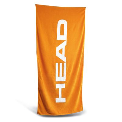 Head Sport Cotton Logo Towel - Orange