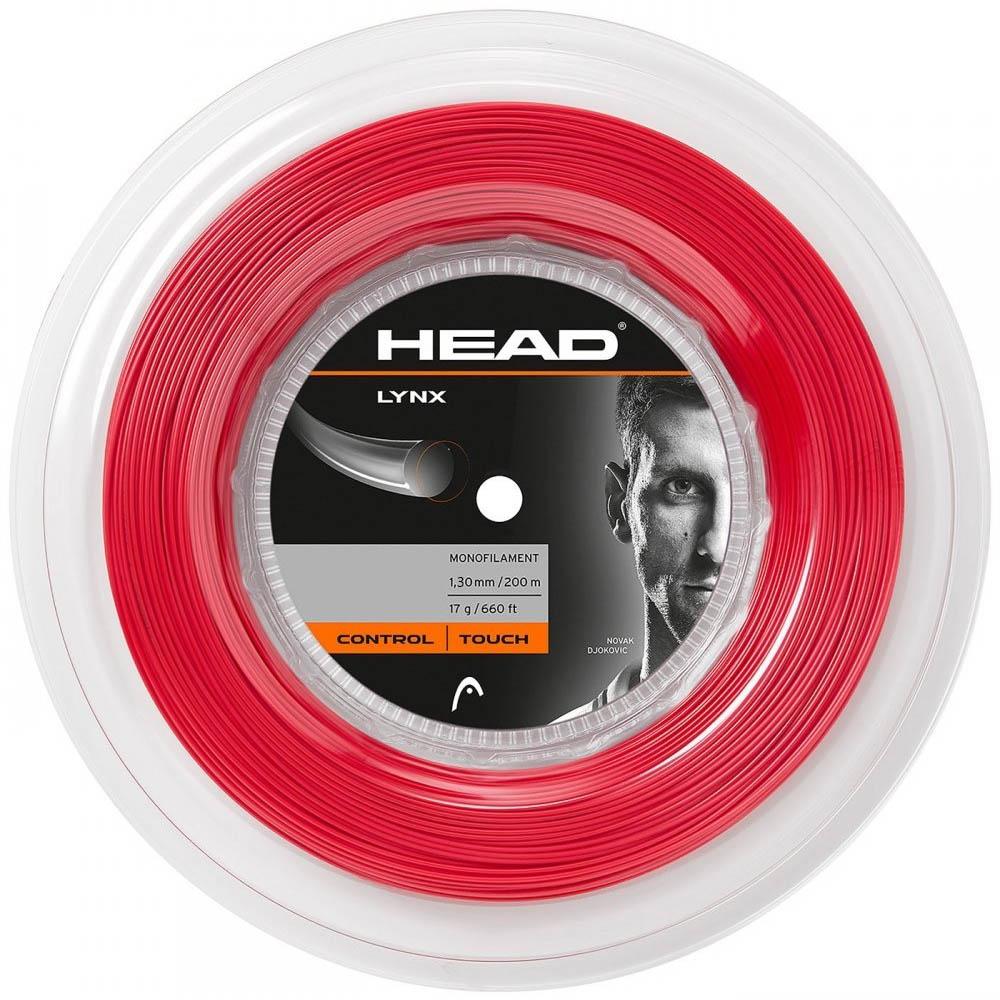 Head Lynx Tennis String 200m Reel  Red 1.30mm