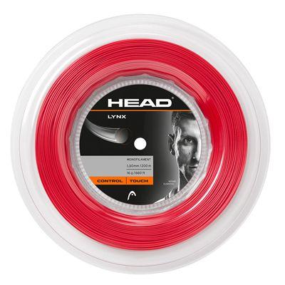 Head Lynx Tennis String 200m Reel - Red 16