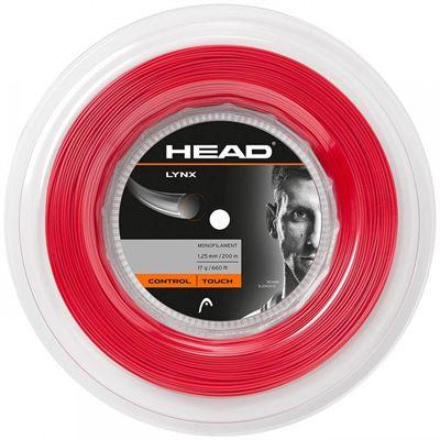 Head Lynx Tennis String 200m Reel - Red