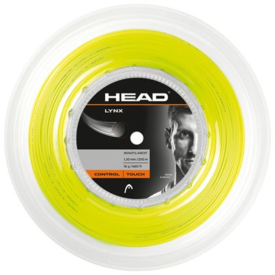 Head Lynx Tennis String 200m Reel - Yellow