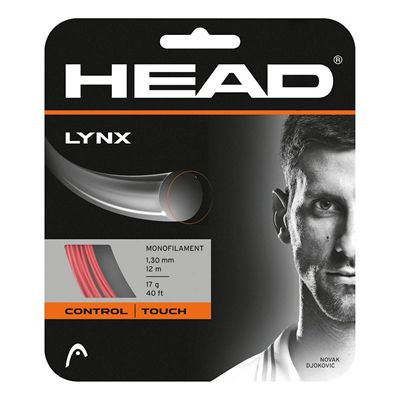 Head Lynx Tennis String Set - Red 1.30