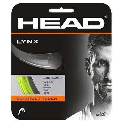 Head Lynx Tennis String Set - Yellow 17