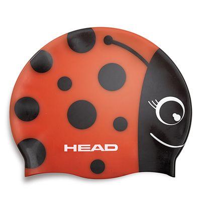 Head Cuffia Meteor Swimming Cap - Red