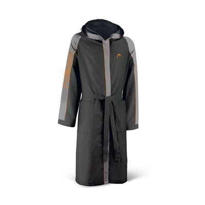 Head Microfibre Junior Bathrobe-Black