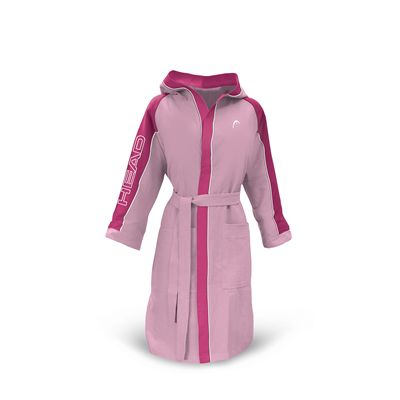 Head Microfibre Junior Bathrobe-Pink