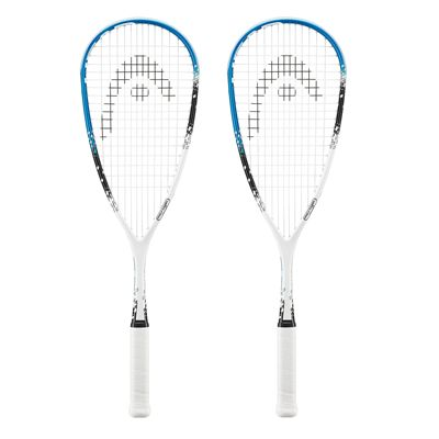 Head Microgel Power Ignition Squash Racket Double Pack