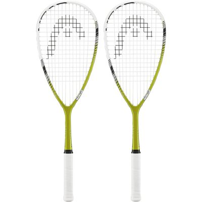 Head Microgel Power Laser Squash Racket - Double Pack