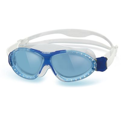 Head Monster Junior Swimming Goggles - Clear Blue Frame Blue Lenses