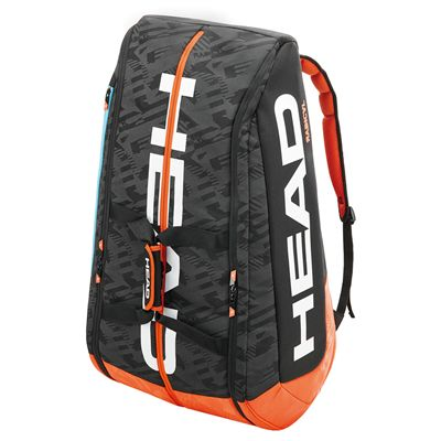 Head Murray Radical Monstercombi 12 Racket Bag Side View