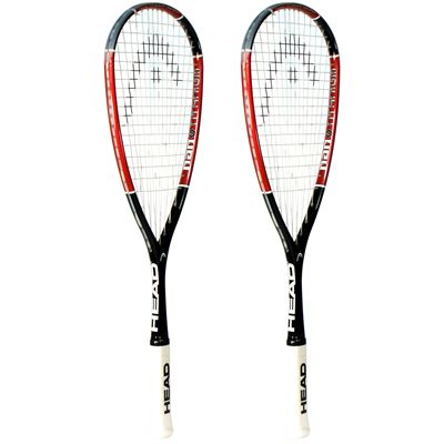 Head Nano Ti110 Squash Racket Double Pack Image