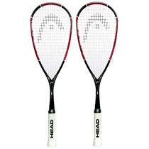 Head Nano Ti110 Squash Racket Double Pack