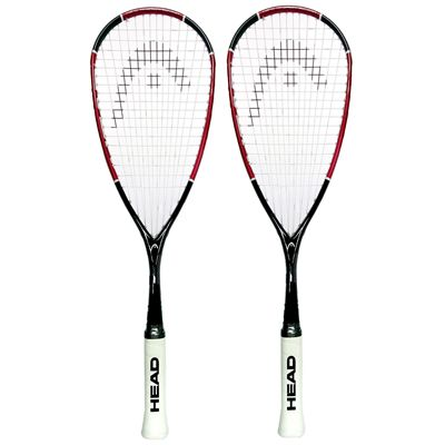 Head Nano Ti110 Squash Racket Double Pack Main Image