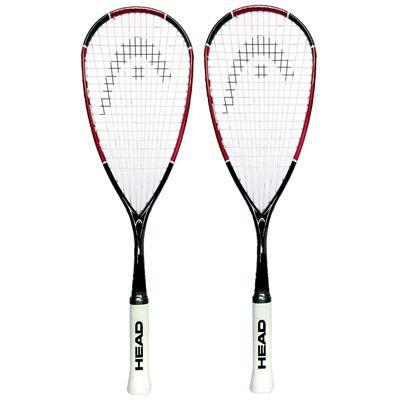 Head Nano Ti110 Squash Racket Double Pack Main Image