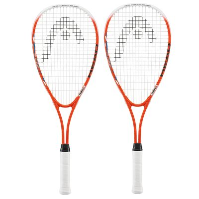 Head Nano Ti Junior Squash Racket Double Pack