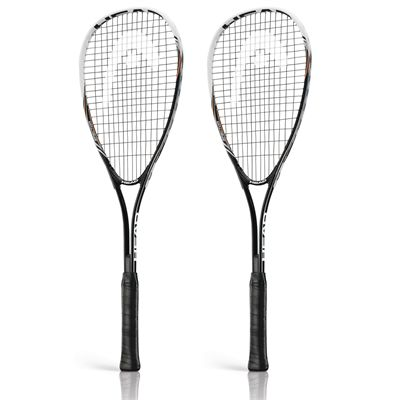 Head Nano Ti Spector 2.0 Squash Racket Double Pack