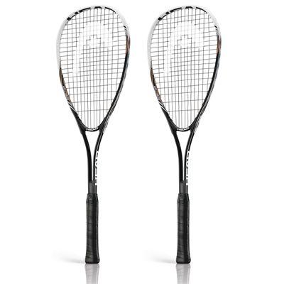 Head Nano Ti Spector 2.0 Squash Racket Double Pack