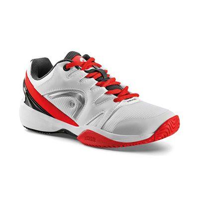 Head Nitro Junior Tennis Shoes - Whit - Side