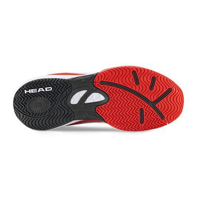 Head Nitro Junior Tennis Shoes - Whit - Sole