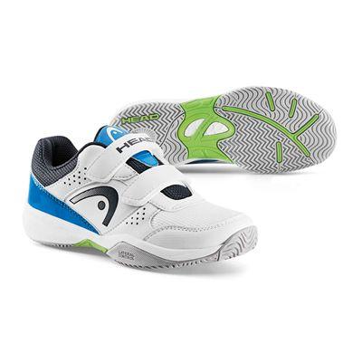 Head Nitro Velcro Kids Tennis Shoes