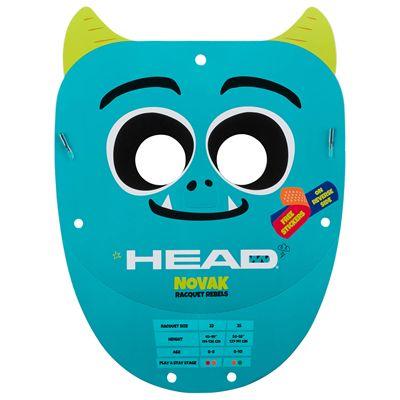 Head Novak 23 Junior Tennis Racket SS20 - Paper Mask
