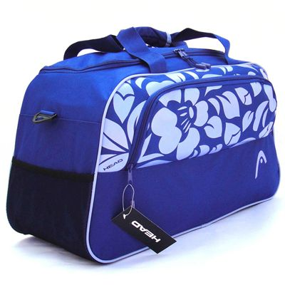 Head Orchid Holdall Image - Blue