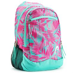 Head Palm Print Backpack