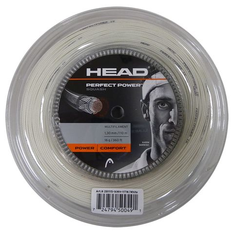 Head Perfect Power 16 Squash String - 110m Reel