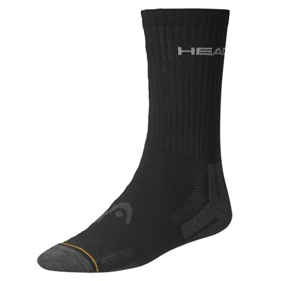 Head Performance Crew Socks - Black