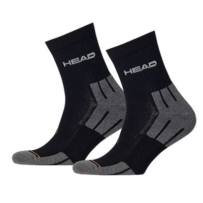 Head Performance Short Crew Socks - Black