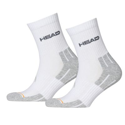 Head Performance Short Crew Socks - White
