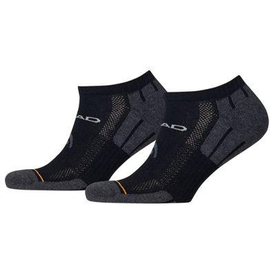 Head Performance Sneaker Socks - Pack of 2 - Black