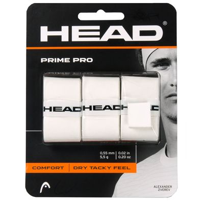 Head Prime Pro Overgrip - Pack of 3