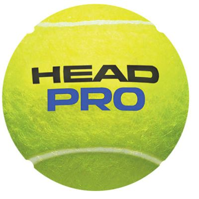 Head Pro Tennis Balls - Tube of 4 - Ball